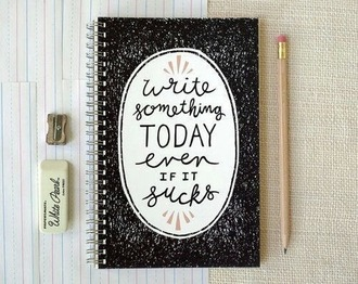 bag home accessory notebook quote on it new years resolution hipster desk