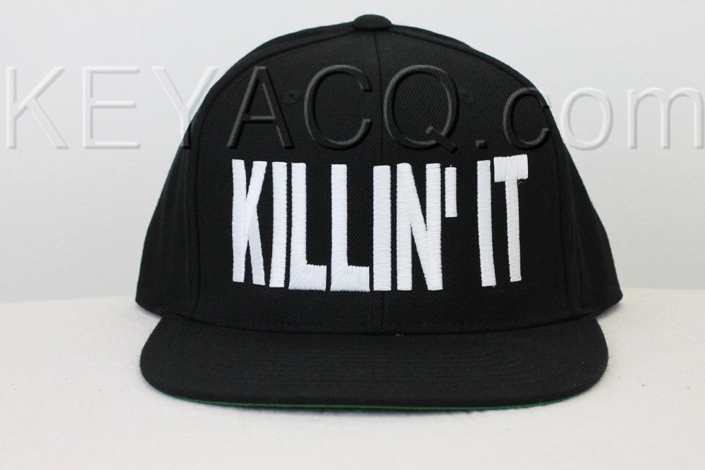Killin' it snapback killing it fashion dope swag krewella style hat cap concert