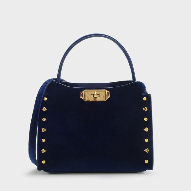 handbag navy bag