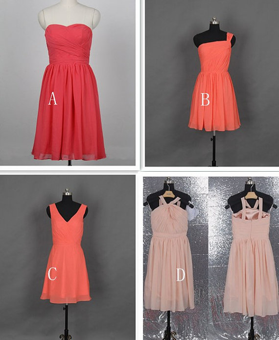 4 popular bridesmaid dresses by dressblee on etsy