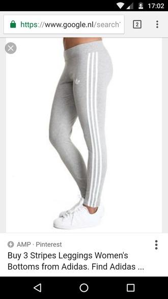 tights adidas leggings grey