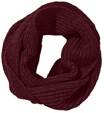 Pieces damen schal ardel tube scarf, einfarbig, gr. one size, rot (tawny port): amazon.de: bekleidung