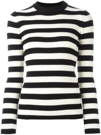 jumper women black wool sweater