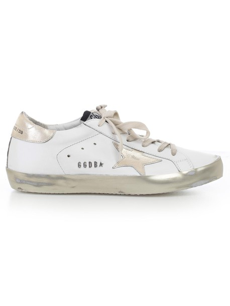 Golden goose sneakers gold shoes