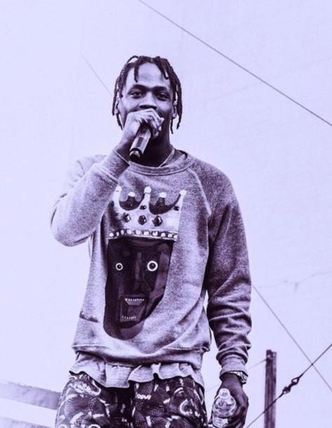 shirt travis scott kanye west crewneck sweatshshirt dope
