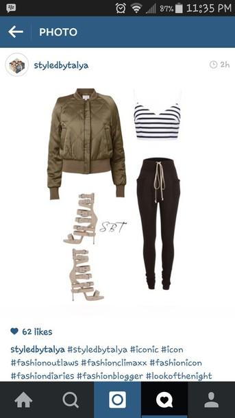 coat top pants shoes