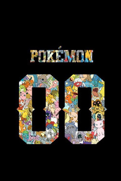 pokemon t-shirt isthereashirtwiththisdesign? colorful