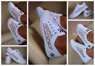 shoes white lace sneakers adidas with lace addidas lace shoes white lace adidas sneakers cut-out trainers