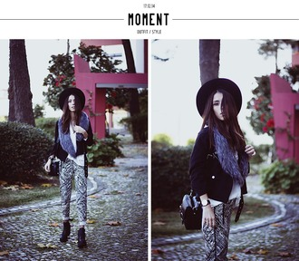 mexiquer blogger jacket jewels blouse pants shoes