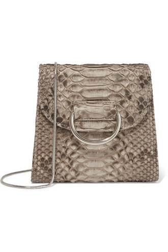 snake python bag shoulder bag print snake print
