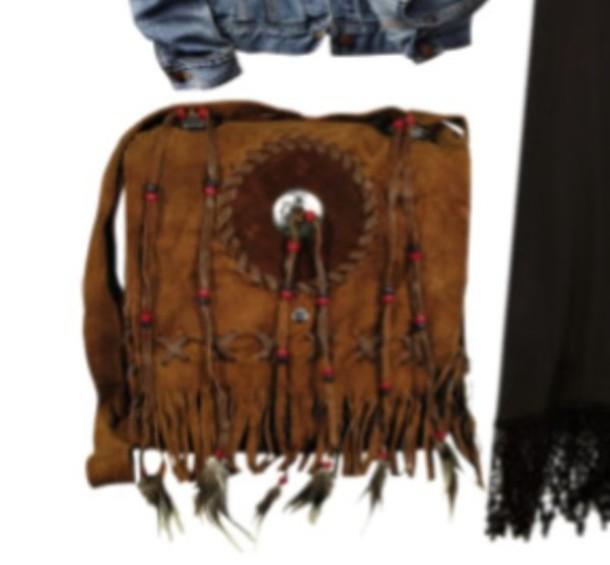 bag hippie festival tassel