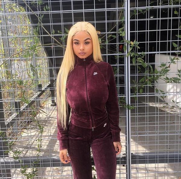 Burgundy Nike Sweater