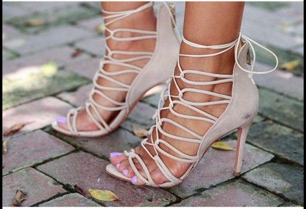 5a32c78247a4 shoes strappy shoes high heels heels sandals strap sandals cute sandals  booties ankle strap heels heels