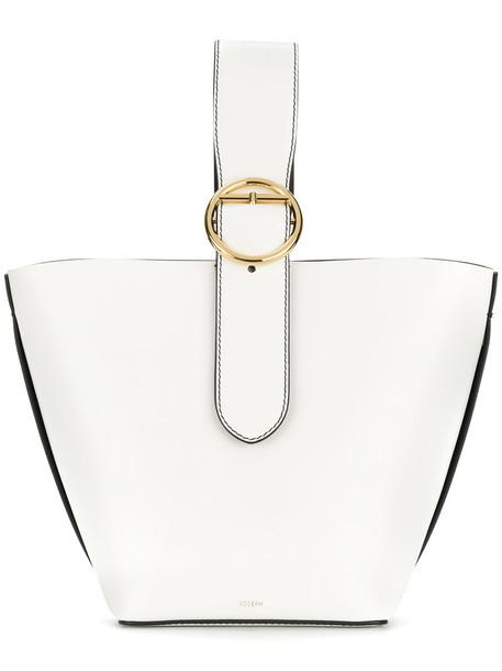 Joseph women leather white bag