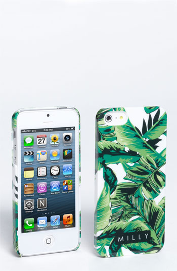 Milly 'banana leaf' iphone 5 case