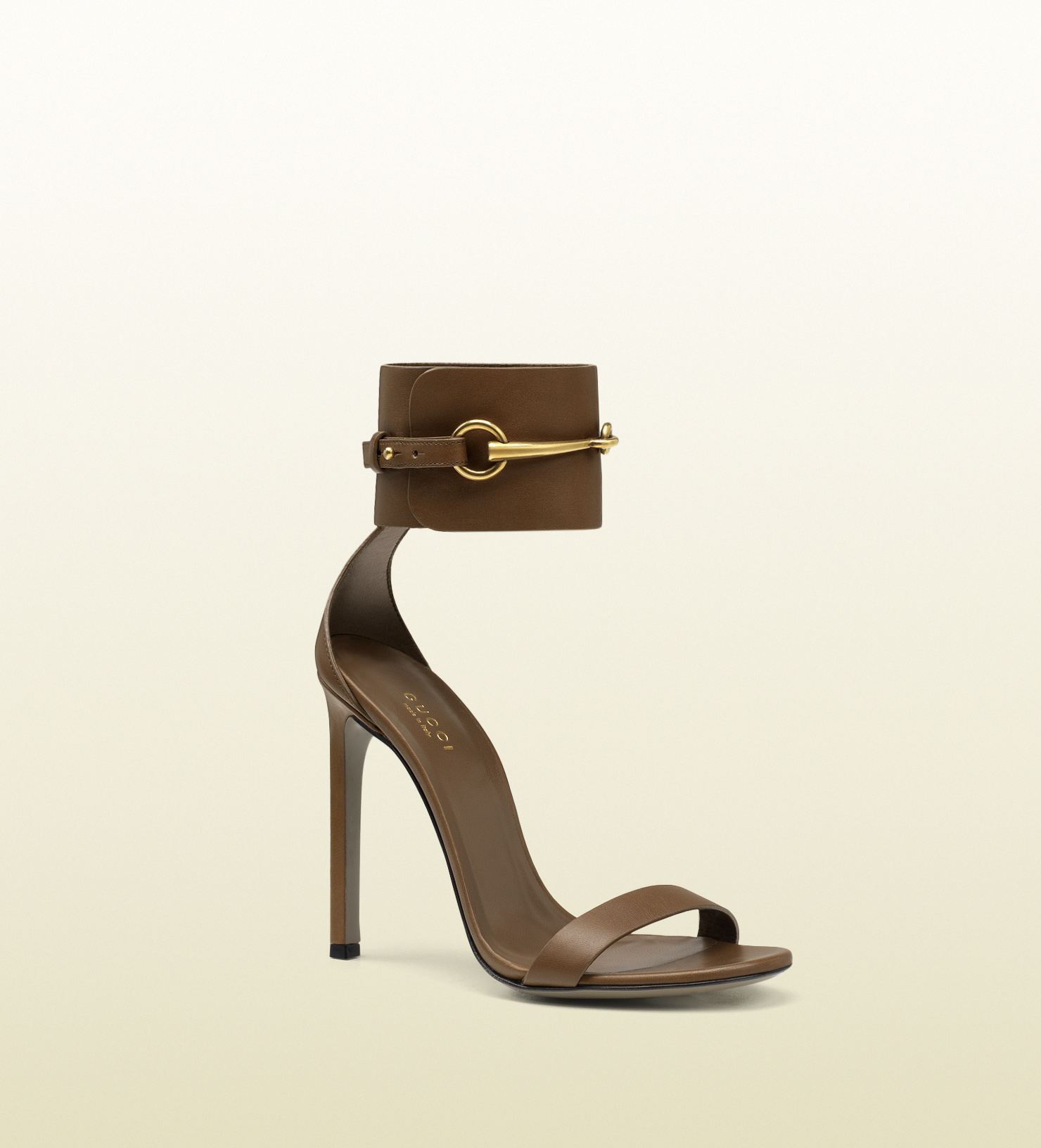 Gucci - ankle-strap leather sandal 319587A3N002527