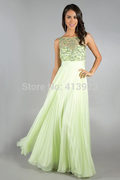 Aliexpress.com : Buy 2014 Glistening Long One Shoulder Open Back A Line Princess Tulle&Chiffon Prom Dresses from Reliable chiffon strapless long dress suppliers on Chaozhou City Xin Aojia dress Factory