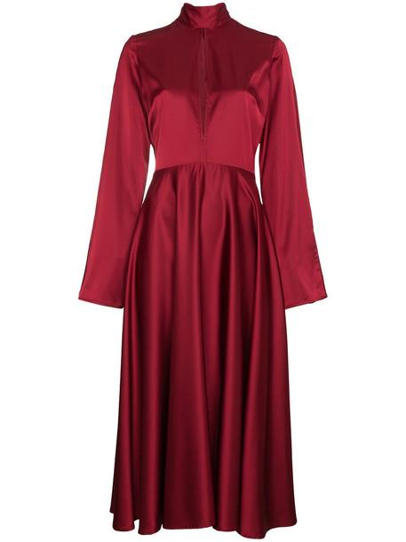 Beaufille dress maxi dress maxi women spandex red