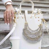 jewels,aria collection,necklace,statement necklace,jewellery stores,boho jewelry