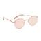 Garrett leight wilson sunglasses - sandstone/pink gold