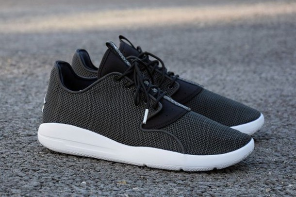 shoes, black jordan eclipse, black