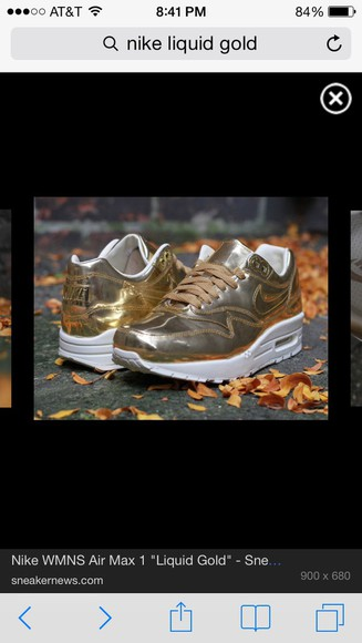 beyoncé gold shoes nike sneakers