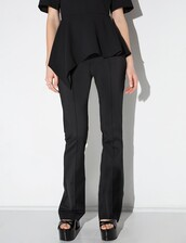 pants,cameo black union pant,black pants,chic style,chic,chic pants,working girl,cameo the label