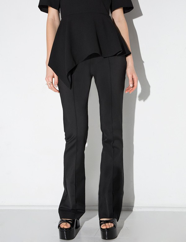 pants cameo black union pant black pants chic style chic chic pants working girl cameo the label