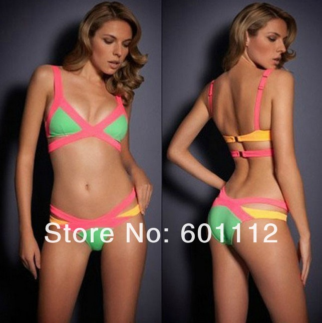 3 colors! competitive price! bandage swimwear, bandage swimsuit, bandage bikini region bandage hl swimsuit paris beachwear