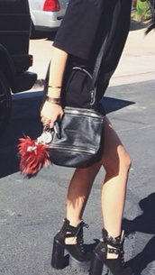 bag,kylie jenner,black purse