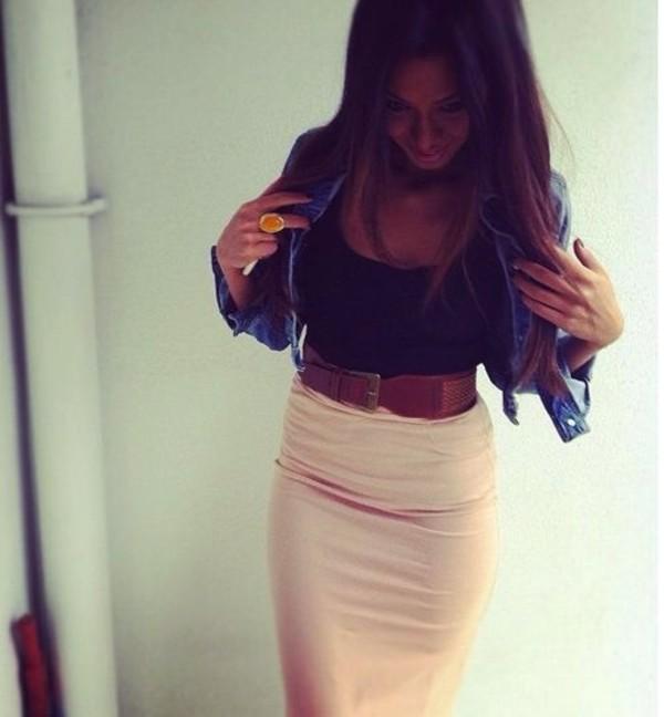 skirt belt jacket style waist belt