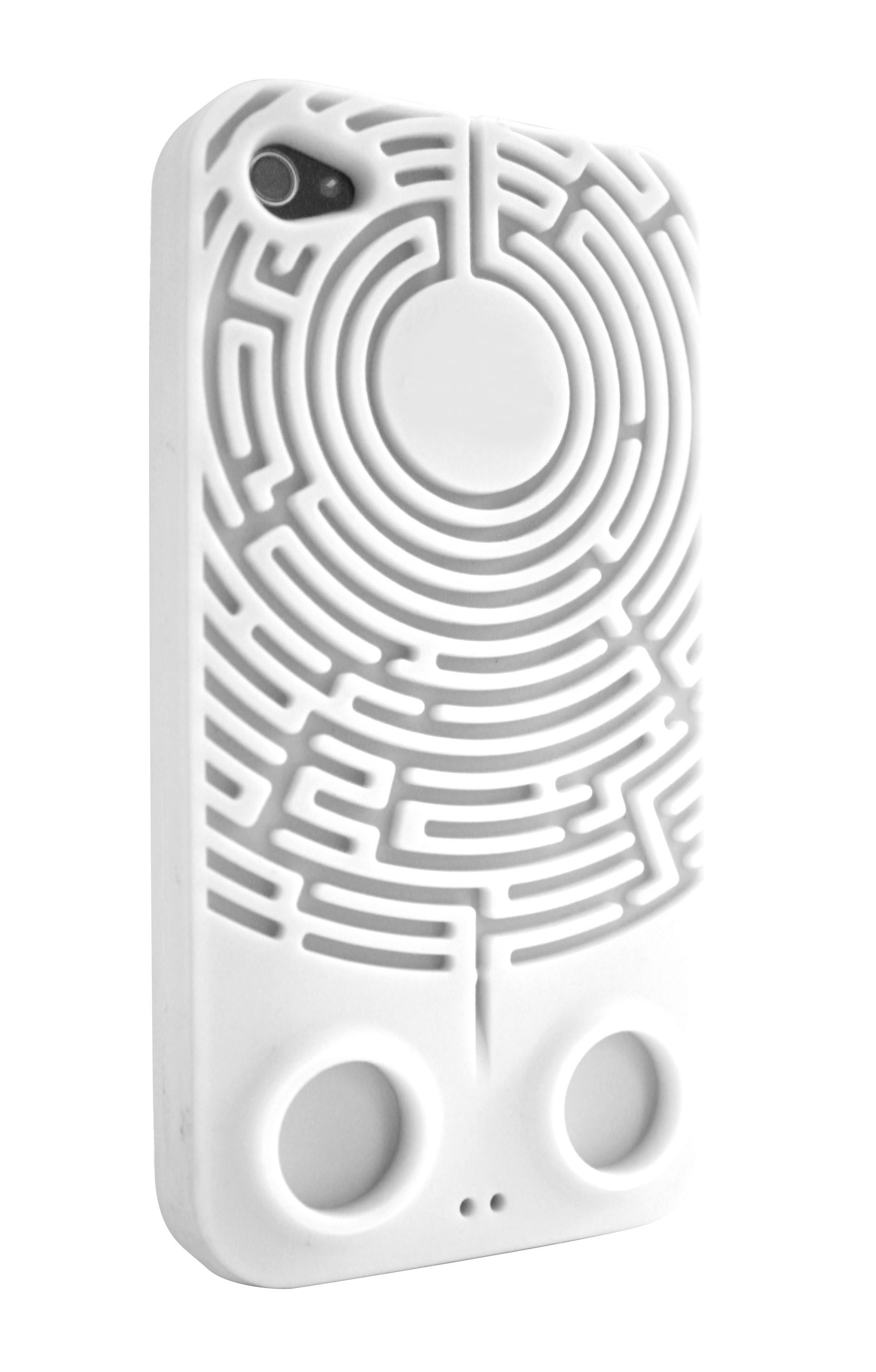 4s / with built in headphone tidy maze / fun gify idea from locomocean ltd