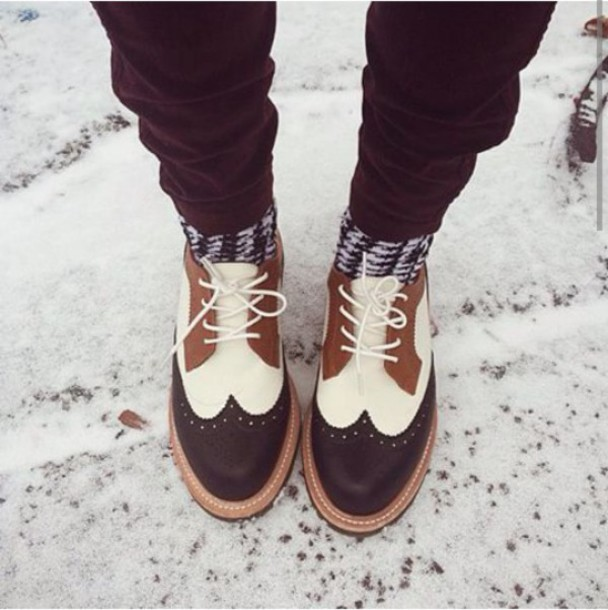 shoes grunge hipster Oxford style