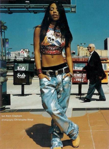 jeans aaliyah