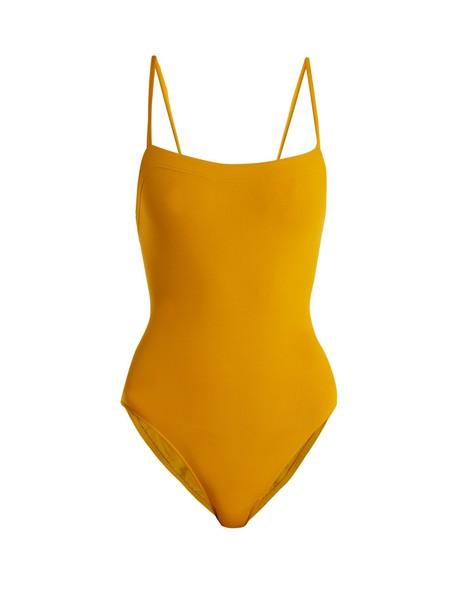 ERES dark yellow swimwear