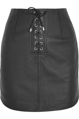 skirt leather skirt black leather skirt
