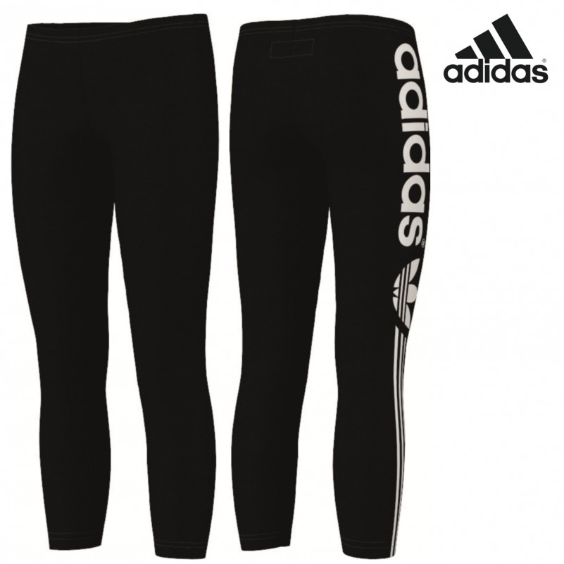 adidas originals leggings j m dchen schwarz mode kinder adidas. Black Bedroom Furniture Sets. Home Design Ideas
