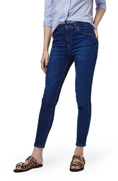 9557f366a5c9 Topshop  Jamie  High Rise Ankle Skinny Jeans