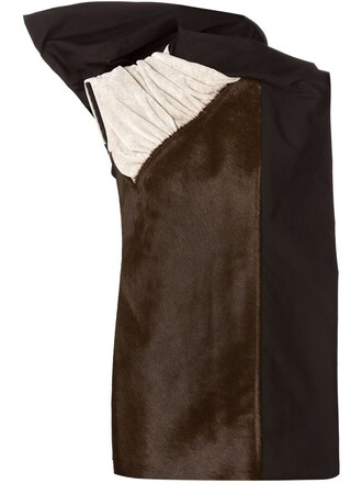 vest black jacket