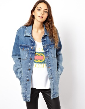 ASOS | ASOS Supersoft Denim Jacket at ASOS