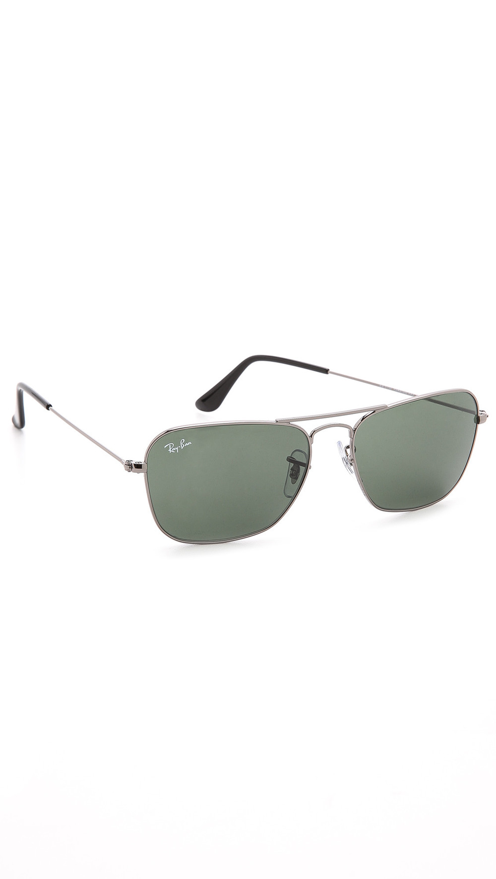 Ray-Ban Caravan Sunglasses in green