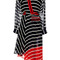 Striped silk georgette flintoff midi dress | moda operandi