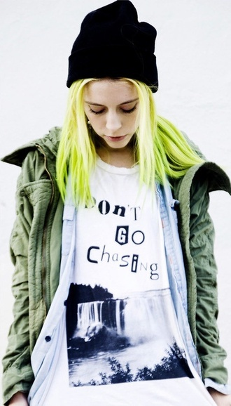 shirt soft grunge mix and match lettering jacket