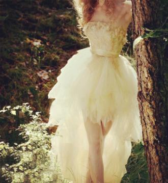 dress prom dress backless long white dress cream prom dress bustier dress