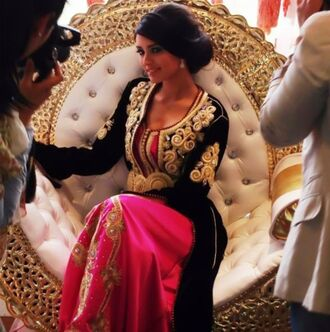 dress robe maxi dress wedding arabic muslim arabian style