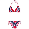 Rebel flag string bikini set