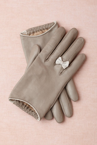 Genteel gloves in  shop the bride bridal accessories at bhldn