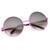 Womens Retro Oversize Metal Round Circle Sunglasses 8904                           | zeroUV