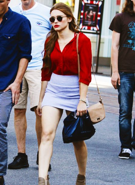 shirt red shirt holland roden light shirt