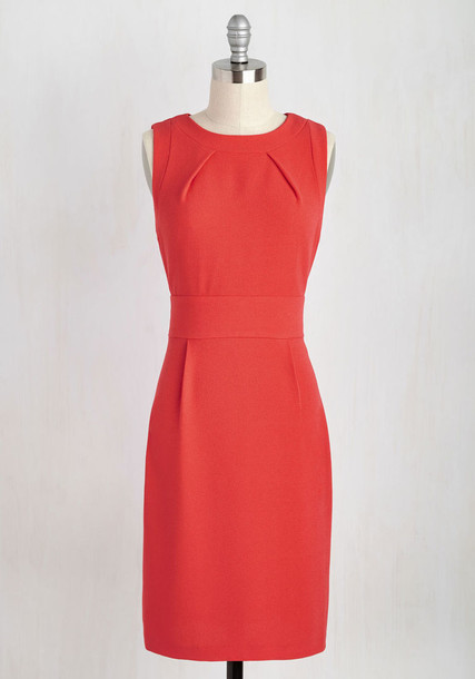 Modcloth dress red